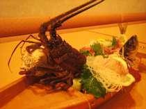 富士山、駿河湾一望。夕食は地物の伊勢エビ付舟盛プラン!