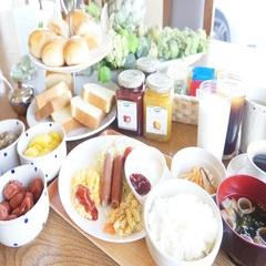 シングルルーム ほっこり手作り無料朝食付