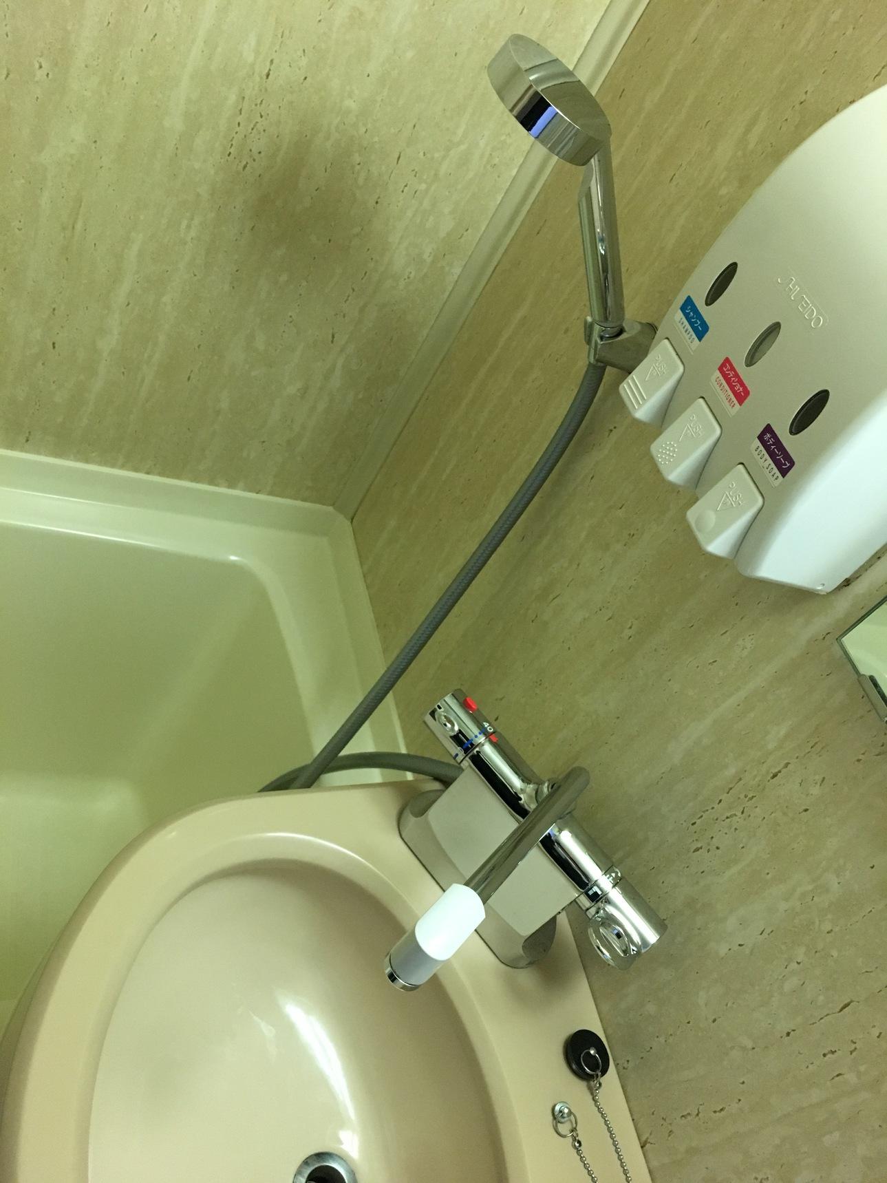 浴室サーモスタット混合栓