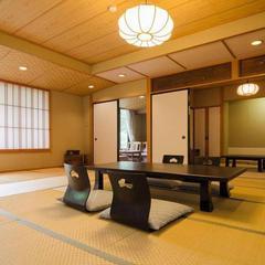 本館和室12.5畳・6畳+広縁(夕・朝食共部屋食)