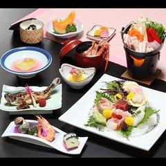 【特選☆海鮮お造り付きプラン】お夕食はお部屋で♪貸切風呂無料.