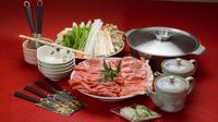 【夕食&朝食 お部屋へお届け♪】セルフで楽しむ「信州牛+信州豚のしゃぶしゃぶ鍋」のご夕食/2食付