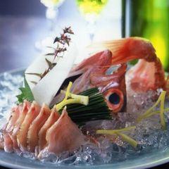 【 2021☆夏 】 『 地魚の活け造り 』付き 『 朝とれ白イカと夏かに いっぱい♪ 』プラン