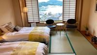 「海雲」海側和室のベッドルーム