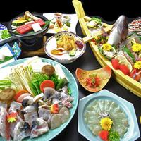 【ふぐスペシャルコース】3年とらふぐ×舟盛り×淡路牛★淡路島の美味を贅沢に楽しむ