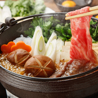 【淡路牛を食す!】淡路島のブランド淡路牛をすき焼きで満喫!