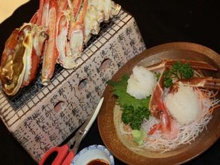 【1日3組限定♪】訳あり越前蟹料理フルコース♪