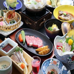 【スタンダード】 季節のグルメ会席  カップル&ファミリープラン♪【広間でお食事】