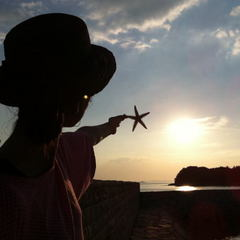 【女子旅】たまには一人旅、の〜んびり島旅/蚫&国産和牛ステーキプラン♪オリーブコスメプレゼント!