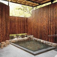 ◆【直前割】湯巡りの宿で温泉三昧!落ち着いた佇まいのお部屋と大露天風呂を堪能♪《素泊り》