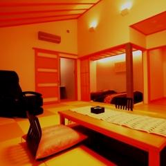 新館「陽邸さなえ田」45平米2間続き琉球畳和室B/T付