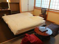 禁煙室★新装和洋室10畳★5湯貸切ウォシュトイレ付