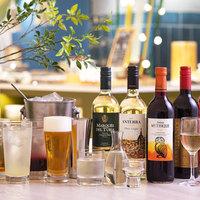 【飲み放題付】お得! 生ビール&酎ハイ&10種類のワインなど約25種類(105)