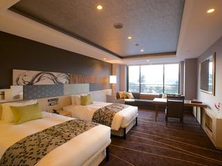 【一泊朝食】【洋室ベッドルーム】人気の海側洋室がリーズナブルに登場!朝は和食を食べて元気にスタート