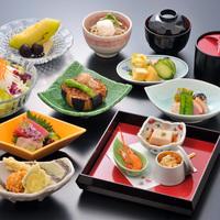 【楽天スーパーSALE】10%OFF!【憩コース】<メインは魚料理>和会席料理と天然温泉を堪能