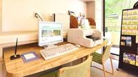 【素泊まり】<1部屋5000円〜>在宅勤務やテレワークにも♪駐車場隣接&Wi-Fi完備