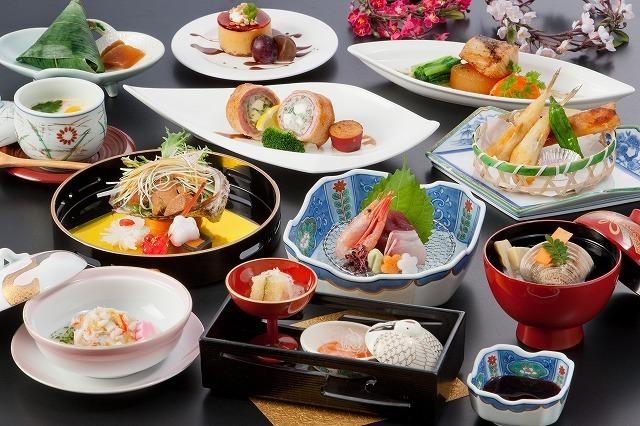 【楽天トラベルセール】最大23%OFF♪旬の食材を使用したお料理に舌鼓♪『季節の味覚プラン』