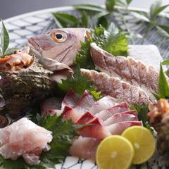 【 お刺身☆大好き♪ 】 『 香住の春旬魚介造り盛り 』 & 『 活け桜エビ と 香住カニ 』プラン