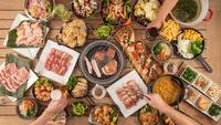 【長崎県民限定】3密を避けオープンデッキで楽しむ90分食べ飲み放題BBQ