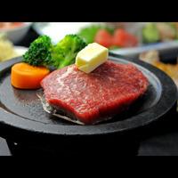 ☆【お肉も食べたい!】グレードUP★国産和牛ステーキ付★季節会席 一人旅もOK♪