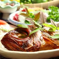【さき楽28】ポイント2倍★人気の『金目鯛の煮付け』付き!《1泊2食付き》