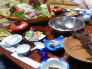 【源泉】と〜ちゃんの釣果+エビ・アワビ活き造りプラン♪料理自慢の漁師の宿