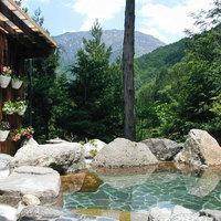 【素泊まり】当館自慢の開放感のある露天風呂と無料の貸切風呂で奥飛騨の自然を満喫♪