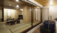 【東館◇特別和洋室】源泉利用可能な温泉付和ベッドの部屋「月」