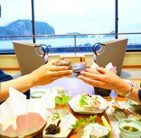 【純米酒呑み比べ】美味しい島の地酒と海の幸満喫プラン☆