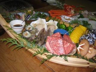 ≪但馬の海と山を贅沢に味わう≫ 『 但馬牛のステーキ+おまかせ旬魚介のお刺身 』