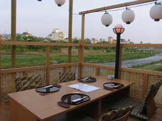 京の夕涼み♪ 鴨川納涼床 グレードアップ1泊2食付プラン【タクシー送迎付】