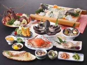 新鮮な旬の魚満載【海鮮プラン】【名鉄海上観光船20%OFF】