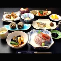 ☆選べるアワビ料理付き☆鮮度抜群!お造り会席プラン♪【1泊2食付】