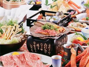 【平日限定】6月のお得なプランです。★かに&アワビ&肉と贅沢三昧!★