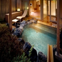 【露天風呂付客室】お部屋に温泉がある贅沢・ゆらく山彦亭・基本プラン