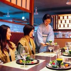 日本の絶景と厳選お料理☆オープンキッチンの四季彩ダイニング美厨(みくり)でご夕食の当館人気プラン