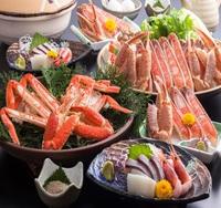 特選かにフルコース(蟹×2杯+但馬牛の陶板焼き)/蟹も!お肉も!わがままに!【楽天限定★旅行応援】