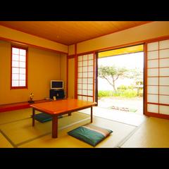 日本海を望むオーシャンビュー和室8畳☆彡