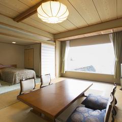 【海側】コーナースイート(海側10畳+ツインベッド)<禁煙>
