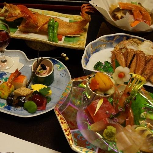 【量より質重視】 少量美食!全11品!周りを気にせずゆったりお部屋食で【雅-みやび-膳】
