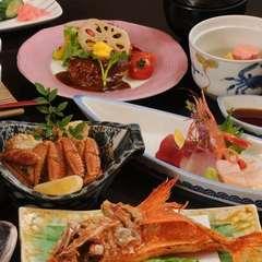 ◆記念日特典付◆ 貴方の大切な記念日を鯛のお頭付祝膳で優雅に。。。♪ワインハーフ付き 【輝の膳】