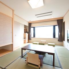 【展望フロア】モダンルーム・和室10畳(川側/禁煙)