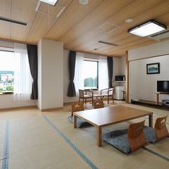 グループ和室14畳(街側・眺望:田園風景)(部屋売り)