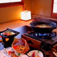 【お料理満喫!!】名物!鬼北雉『キジ』の大鍋会席料理プラン!〆の雑炊セット付♪