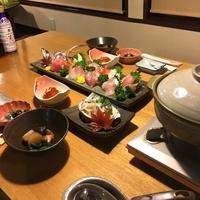 【ファミリー】旬魚三昧!! あんこう鍋と刺し盛り付き豪華リーズナブルプランB