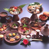 【2連泊限定】古代食も会席料理もご堪能!松園名物と出雲の旬を満喫プラン<弥生の宴/蘭会席>