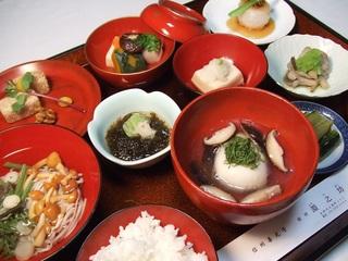 伝統の味覚【宿坊体験・精進料理プラン】1泊2食付