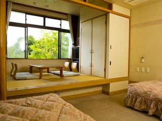 『和洋室』ベッド・座敷でリフレッシュ【トイレ有】