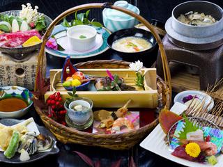 【お客様満足度NO.1季節会席+朝食バイキング】神戸で年間30万人が利用する「名湯」天然温泉を堪能