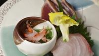飛騨牛ミニステーキ、桜えび3品、カサゴの姿煮などが楽しめるレストラン食プラン【癒しのゆがわらステイ】